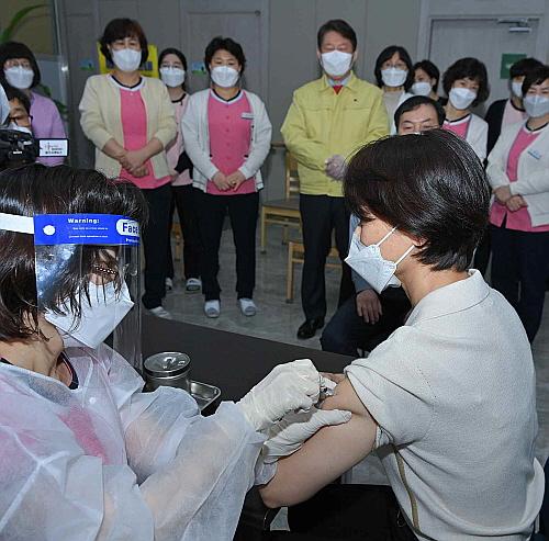 대구시 북구.서구 예방접종센터 백신접종 시작!